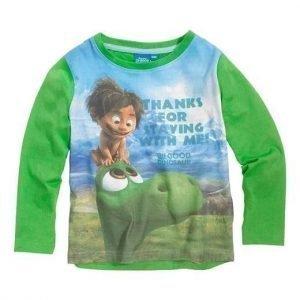 Disney The Good Dinosaur T-paita Vihreä Kuvioitu