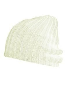 Disturb Beanie White