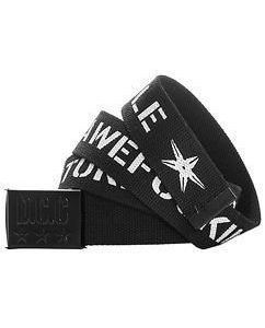 Disturb Canvas Belt Black
