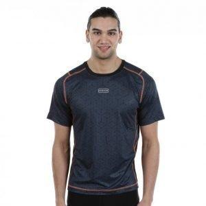 Dobsom Geranium T-Shirt Treenipaita Harmaa / Sininen / Musta