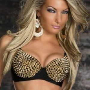 Dominique kultaiset rintaliivit