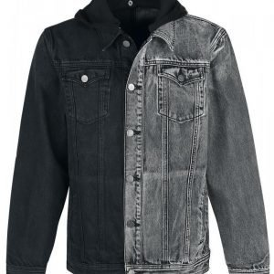 Doomsday Two Tone Jeans Jacket Farkkutakki