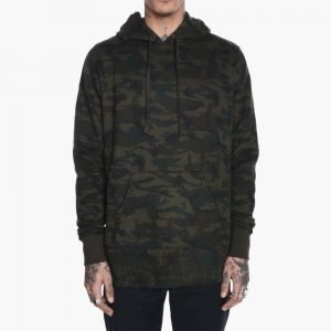 Dope Destroyed Camo Pullover