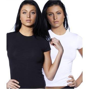 Doreanse  Daily Passion T-shirt Black and White 2 pakkaus