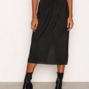 Dr Denim Admina Skirt Midihame Black