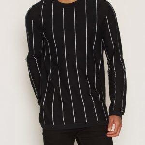 Dr Denim Ash Sweater Pusero Black Velvet