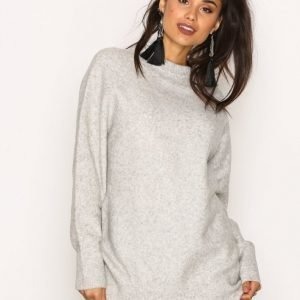 Dr Denim Cajsa Sweater Neulepusero Light Grey