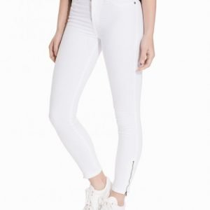 Dr Denim Domino Jeans Slim Farkut White