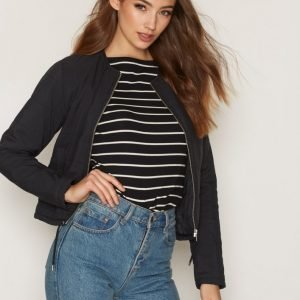 Dr Denim Ilo Jacket Untuvatakki Black