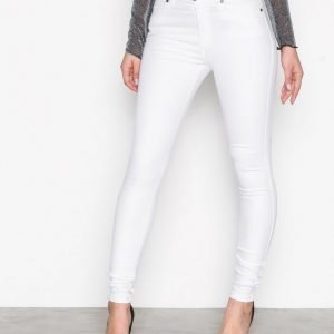 Dr Denim Lexy White Slim Farkut White