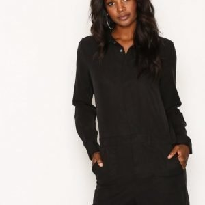 Dr Denim Mirelle Playsuit Black