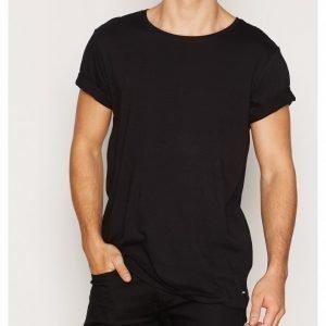 Dr Denim Patrick Tee T-paita Black