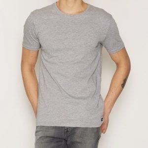 Dr Denim Patrick Tee T-paita Light Grey