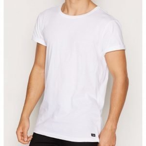 Dr Denim Patrick Tee T-paita White