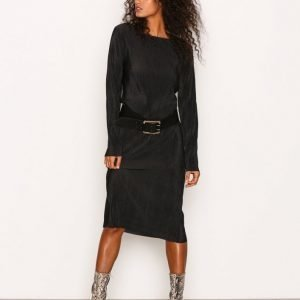 Dr Denim Ranja Dress Loose Fit Mekko Black
