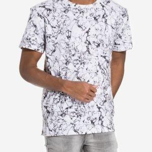 Dr Denim Russ Tee T-paita Valkoinen