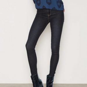 Dr Denim Solitare Leggings Slim Farkut Dark Blue