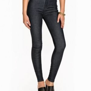 Dr Denim Solitare Leggings Slim Farkut Raw Denim