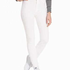 Dr Denim Solitare Leggings Slim Farkut White