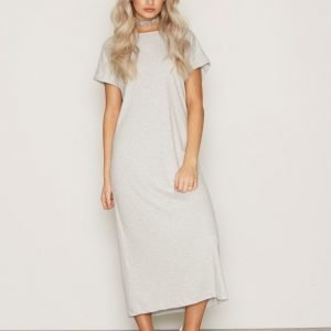Dr Denim Vivienne Dress Loose Fit Mekko Light Grey