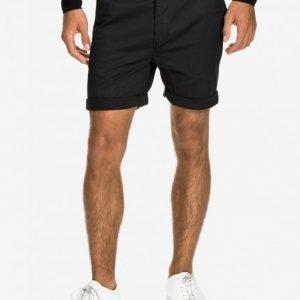 Dr Denim Wood Shorts Shortsit Black