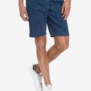 Dr Denim Wood Shorts Shortsit Mid Blue