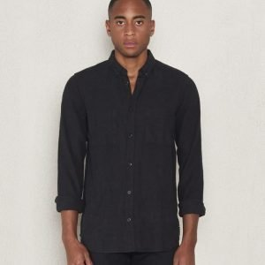 Dr.Denim Drew Regular Shirt Black