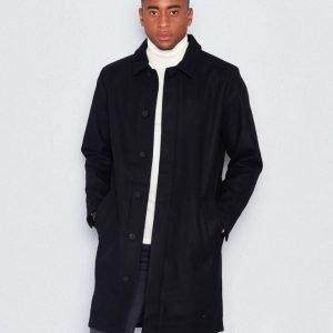 Dr.Denim Ingo Coat Black