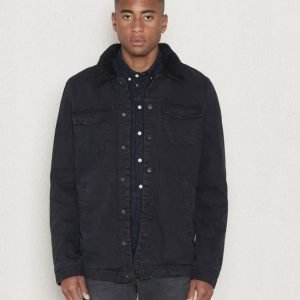 Dr.Denim Ior Jacket Black Vintage