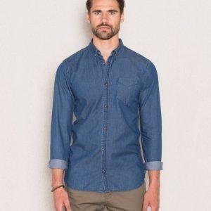 Dr.Denim Pete Shirt 279 Retro Blue