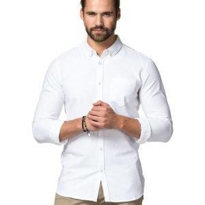 Dr.Denim Pete Shirt White