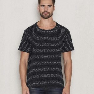 Dr.Denim Russ Tee Black Inline