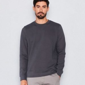 Dr.Denim Smith Sweater Asphalt Grey