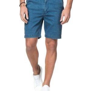 Dr.Denim Wood Shorts Mid Blue