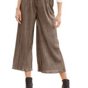 Dress In Culottes Housut Jäänkultainen