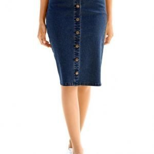 Dress In Farkkuhame Blue Denim