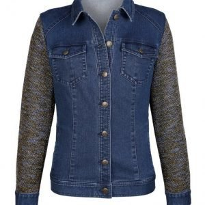 Dress In Farkkutakki Blue Denim
