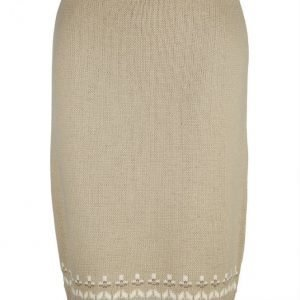 Dress In Neulehame Beige / Vanharoosa