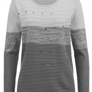 Dress In Neulepusero Harmaa / Tummanharmaa