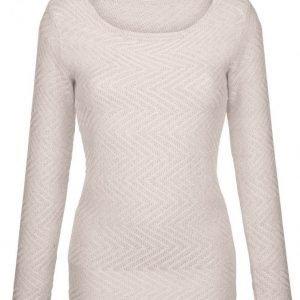 Dress In Neulepusero Kitti / Valkoinen