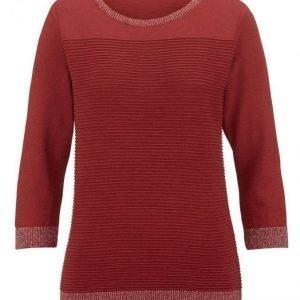 Dress In Neulepusero Tulenpunainen
