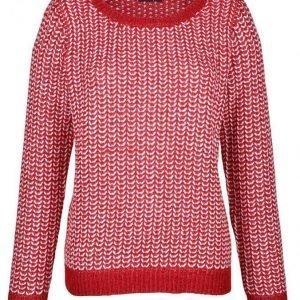 Dress In Neulepusero Valkoinen / Kirisikka