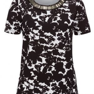Dress In Paita Musta / Valkoinen