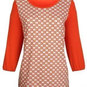 Dress In Paita Oranssi Kuvioitu