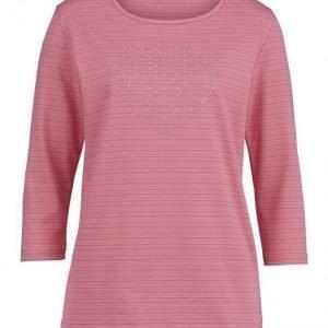 Dress In Paita Pinkki / Valkoinen