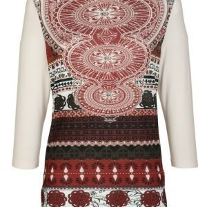 Dress In Paita Tulenpunainen / Musta