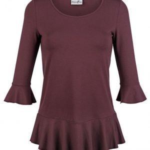 Dress In Paita Viininpunainen