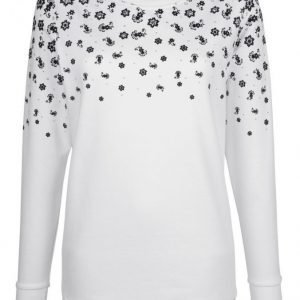 Dress In Svetari Valkoinen / Musta