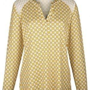 Dress In Tunika Valkoinen / Keltainen