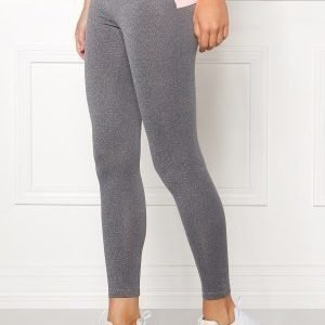 Drop of Mindfulness Bow II Training Tights Grey Melange/Pink